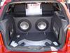 Parati  porta malas personalizada com amplificadores Fosgate nas laterais, Subwoofers Endurance em